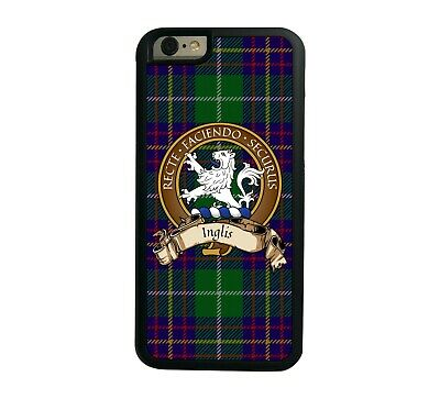 Inglis Scottish Clan Tartan Apple iPhone 7/8  iPhone 7/8 Plus case