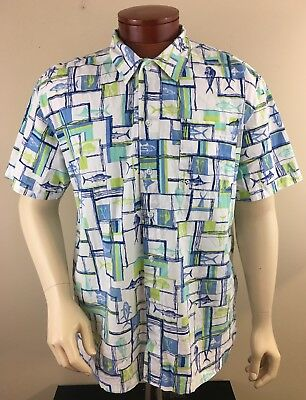 b3ce5ca20d5 COLUMBIA PFG MEN'S Trollers Best Tribal Fish Short Sleeve Vented ...