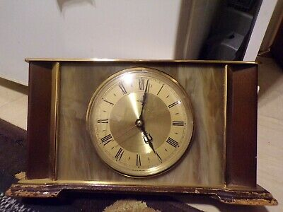 Metamec Vintage Electric Mantel Clock Circa 1960s