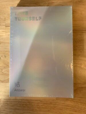 BTS Love Yourself: Answer Album, Official+ Poster + Stickers - Unopened-  Versio