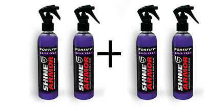 Bogo Deal Shine Armor Fortify Quick Coat  Ceramic Waterless Wash