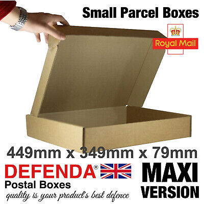 1 x  Sample MAXIMUM Size Royal Mail SMALL PARCEL BOXES PiP Postal