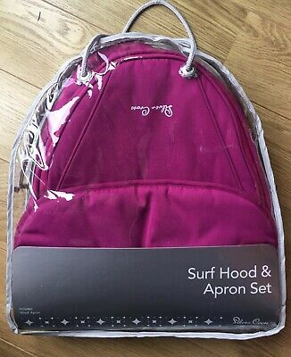 Silver Cross Surf Colour Pack Raspberry on Chrome. For Carrycot or Pram. New.