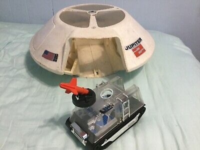 1966 Mattel Switch N Go Lost in Space Jupiter 2 AND Chariot Space Rover,Works.