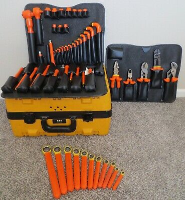 Cementex Insulated Electrical Tool Set 55 Piece Kit