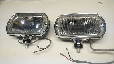 NOS Lucas Square 8 fog/spot lights, Shelby