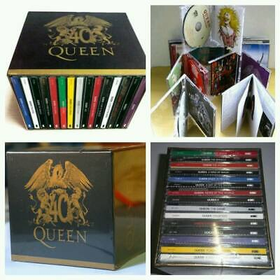 """The Queen """"40th Anniversary"""" 30 CD Collector's Box Set Studio Albums Collection"""
