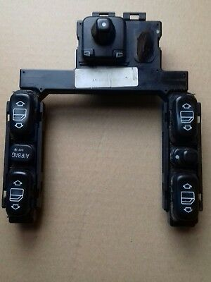 2001 Mercedes e class avantgarde estate   window door mirror switch