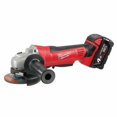 Milwaukee 18v Grinder HD18AG115-402C With 2 x 4.0ah Batteries Charger Case