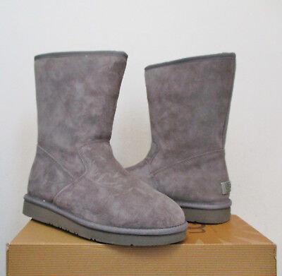 3b6075624d0 UGG WOMEN'S PIERCE Boot Mid-Calf GREY Water-Resistant Suede 8US NWB $180  MSRP