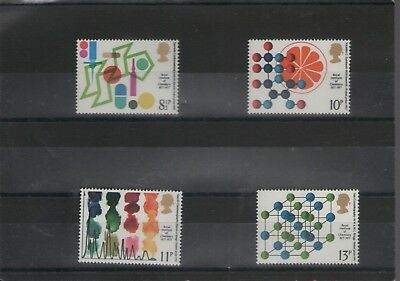 Royal Institute Of Chemistry 1977  Set Of Royal Mail  Mint Gb Stamps Free P&P