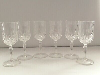 RCR OPERA CRYSTAL GLASS - LARGE SHERRY GLASSES 12cl -SET OF 6