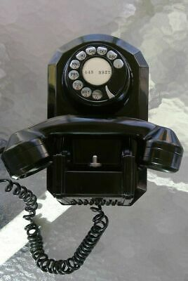 Wall Rotary Telephone Model 461 Bakelite