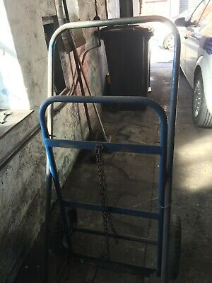 Gas Cylinder Bottle Trolley Heavy Duty For Oxygen & Acetylene Bottles Used