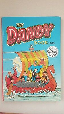 The Dandy Book 1988 Beano 50 Years Young Unclipped Excellent Condition