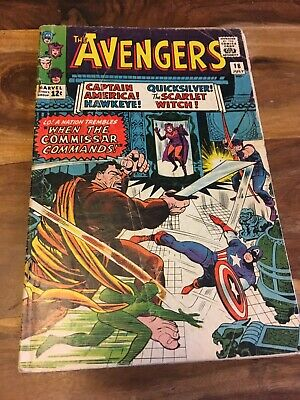 The Avengers Silver Age Comic # 18, 1965. Good / VG