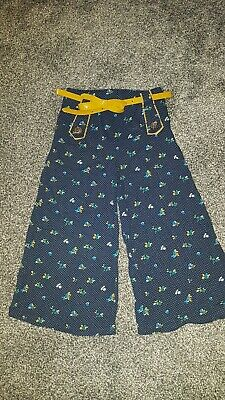 Girls NEXT flare Trousers Age 4 Years