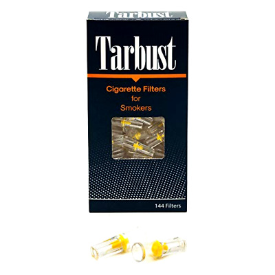 Disposable Cigarette Filters 1 Pack of 144 Filters Cut The Nic Tar Block System