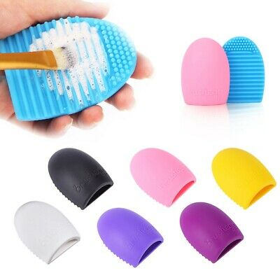 1PCS Silicone Makeup Brush Cleaner Pad Washing Scrubber Board Cleaning Hand Tool