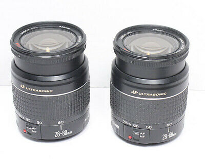 CANON EF 28-80mm F/3.5-5.6 Ultrasonic USM V lens manual focus only As Is read