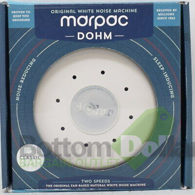 Marpac Dohm Original White Soothing Natural Classic White Noise Sound Machine