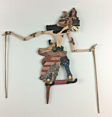 Wayang Kulit Tradition Shadow Wooden Puppet Theatre Malaysia SE Asia