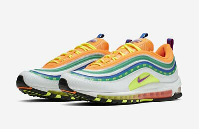 size 40 5c31c edf22 NIKE AIR MAX 97 On Air London Summer of Love CI1504-100 Größe 41 US ...