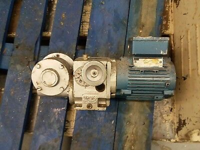 Stroter Gear Motor with speed monitor 0.18 kw in good condition. 3 phase