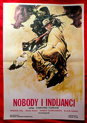 A Genius Two Friends And An Idiot '75 Terence Hill Miou Miou Exyu Movie Poster 2