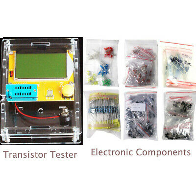 Transistor Tester LED Diodes Inductors Capacitors Digital High Quality Practical