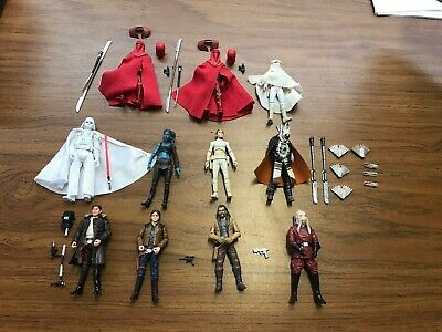 Star Wars Vintage Collection Black Series Legacy Lot 11 Figures W/ Weapons