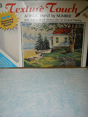 Craft House Texture Touch Acrylic Paint by Number Set Summer Solitude #18704