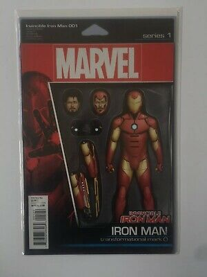 Invincible Iron Man #1 Christopher Veriant