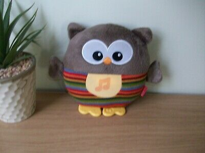 Fisher Price soothing musical night light Owl very good condition