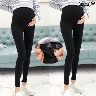 Adjustable Women High Waist Pants Pregnant Elastic Oversized Maternity Leggings