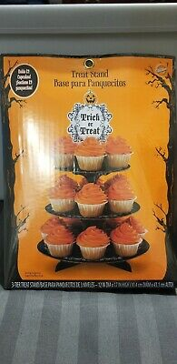 Home & Garden Baking Accs. & Cake Decorating Wilton Halloween Treat Stand Cardboard Holds 21 Cupcakes Pumpkin Trick Or Treat