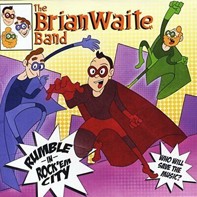 The Brian Waite Band-Rumble in Rock `Em City (US IMPORT) CD NEW