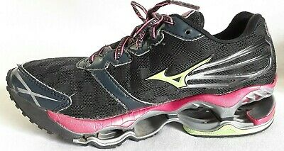 MIZUNO Black Running PROPHECY WAVE Athletic Shoes 2 Women's MqSUpGVz