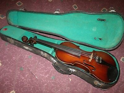 ca 1920's Pan-American Symphony Model 4/4 Violin Elkhart Conn Germany Excellent