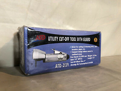 ATD Utility Cut-Off Air Tool w// Guard #2139