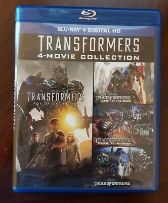 Transformers 4 Film Collection (Blu-ray, 4-Disc) - No Digital