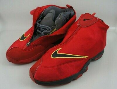 brand new bf299 88f5f Nike Air Zoom Flight The Glove Basketball Shoes Gary Payton 616772-600 Size  11.5