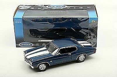 1:18 Welly  - 1970 Chevrolet Chevelle SS 454   Blue