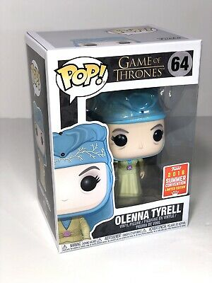Funko Pop! Game Of Thrones 64 Olenna 2018 Summer Exclusive Shared Sticker Arya