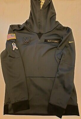 1476658da NIKE ONFIELD Indianapolis Colts Salute To Service Military HOODIE BOYS XL  YOUTH