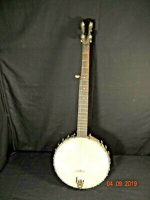 ANTIQUE FIVE STRING BANJO Late 1800's Early 1900's
