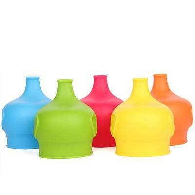 Baby Sippy Cup Lids Reusable Spill Proof Food-Grade Silicone Sippy SO