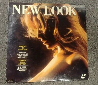 New Look Video Magazine For Men Laserdisc LD Francis Ford Coppola