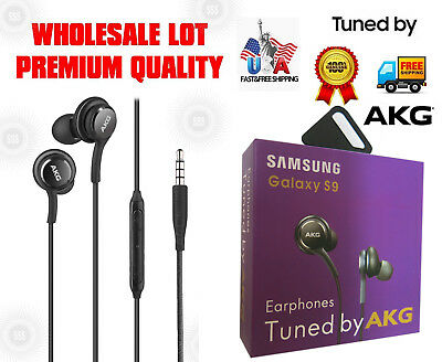 New Original Samsung AKG Tuned Premium In-Ear Headphones with Mic Call For S8 S9
