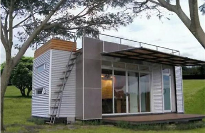 24' ft Pre-Fab Container Modular Home-192 Sqft W/ Roofdeck New ! Financing!